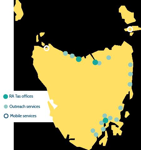 relationship Australia map